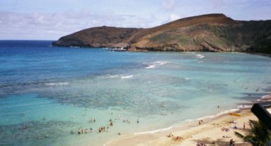 Hanauma Bay view
